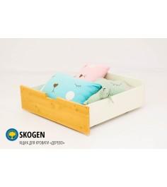 Ящик для кровати Бельмарко Svogen дерево