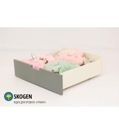 Ящик для кровати Бельмарко Svogen графит