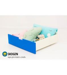 Ящик для кровати Бельмарко Svogen синий