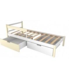 Детская кровать Бельмарко Svogen classic бежево-белый