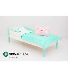 Детская кровать Бельмарко Svogen classic мятно-белый