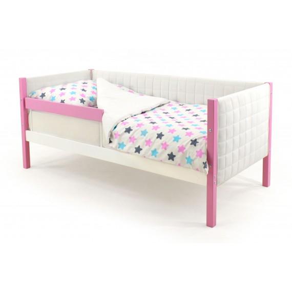 Детская кровать-тахта мягкая Бельмарко Skogen лаванда-белый
