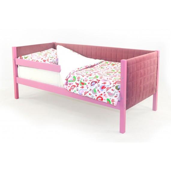 Детская кровать-тахта мягкая Бельмарко Skogen лаванда