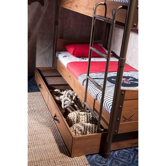 Двухъярусная кровать Cilek Pirate 200 на 90 см