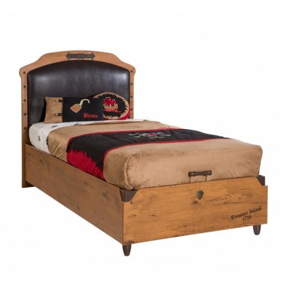 Кровать с подьемным механизмом Cilek Black Pirate 200 на 100 см