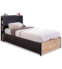 Кровать с подъемным механизмом Cilek Black 190 на 100 см