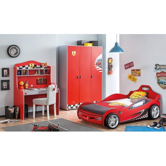 Кровать машина Cilek Coupe красная
