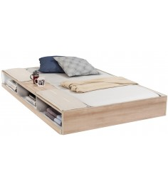 Выдвижная кровать с полками Cilek Duo 190 на 90