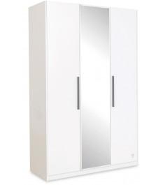 Трехстворчатый шкаф Cilek White