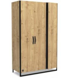 Шкаф трехдверный Cilek Wood Metal