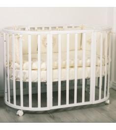 Кровать Incanto Amelia 8 в 1 белый