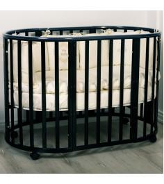 Кровать Incanto Amelia 8 в 1 шоколад
