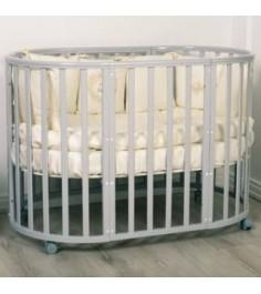 Кровать Incanto Amelia 8 в 1 белая ночь