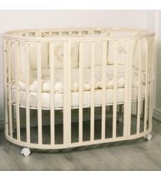 Кровать Incanto Amelia 8 в 1 слоновая кость