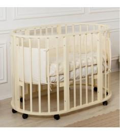Кровать Incanto Gio 9 в 1 слоновая кость