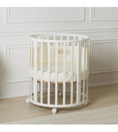 Кроватка Incanto Mimi 7 в 1 (трансформер) белый