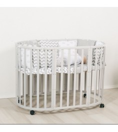 Кроватка Incanto Mimi 7 в 1 (трансформер) серый