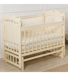 Кровать Incanto Sofi продольный маятник слоновая кость