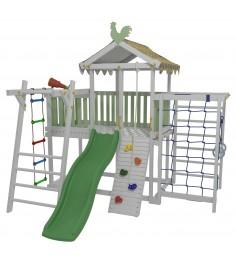 Детский домашний игровой комплекс чердак ДК2Б Бирюзовый...