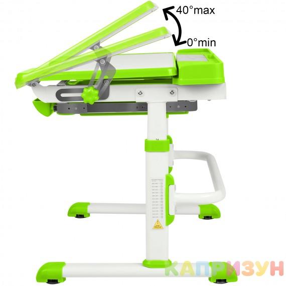 Парта трансформер со стулом Капризун A7-green
