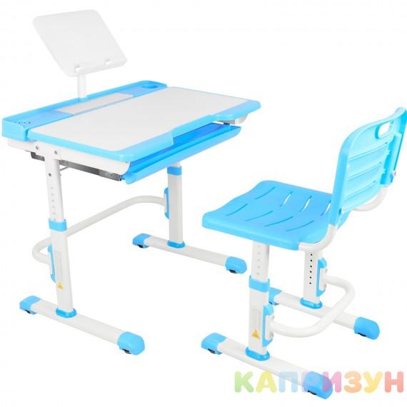 Парта трансформер со стулом Капризун T7-blue