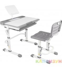 Парта трансформер со стулом Капризун T7-grey