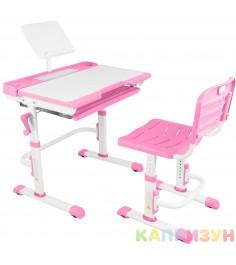 Парта трансформер со стулом Капризун T7-pink