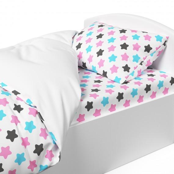 Постельное белье Капризун Розовые звезды
