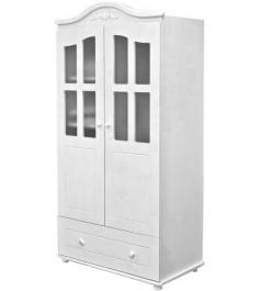 Детский двухстворчатый шкаф Можга С536 Э белый...