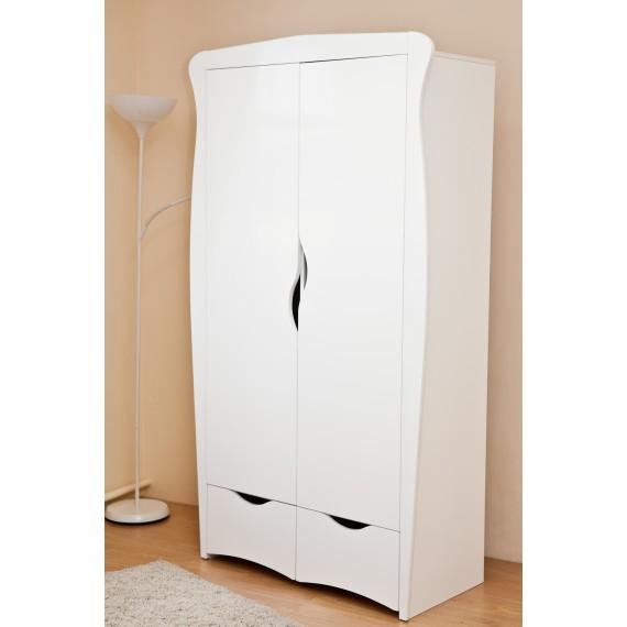 Детский двухстворчатый шкаф Можга (Красная Звезда) С546 белый