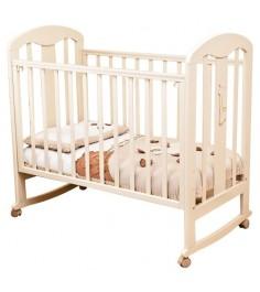 Кровать-качалка Можга Красная Звезда С703 Вилона накладка-ростомер слоновая кость