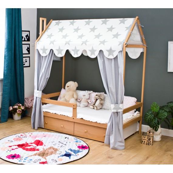 Кровать домик Капризун Р424 бук