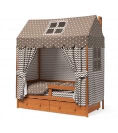 Кровать домик Капризун Р424 Э ольха эмаль