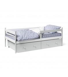 Кровать тахта Капризун Р425 белый серый