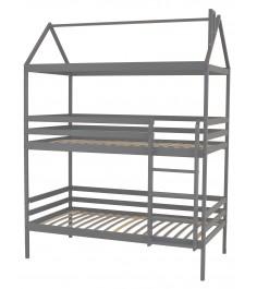 Двухъярусная кровать Можга Красная Звезда Р429.1 серый