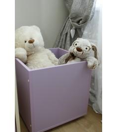 Ящик для игрушек Можга Красная Звезда фиолет