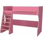 Кровать чердак Р432 Капризун 1 розовый