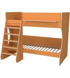 Кровать двухъярусная Капризун 3 оранжевый