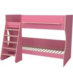 Двухъярусная кровать Р438 Капризун 3 розовый