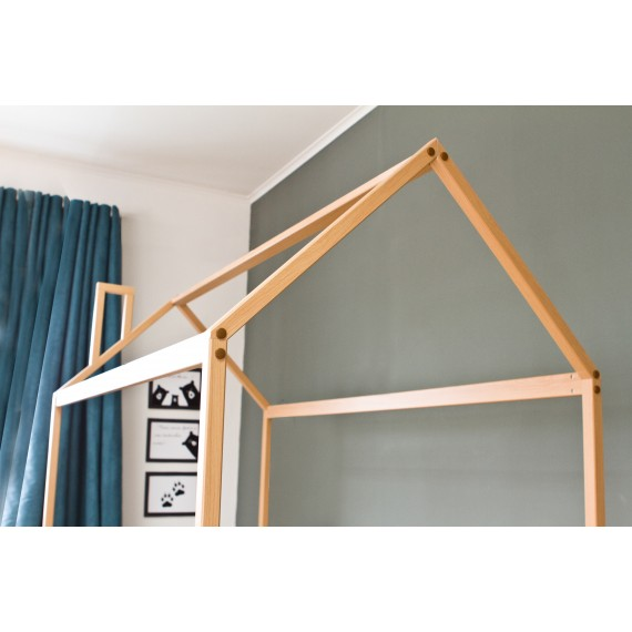 Кровать домик Можга Красная Звезда Р424 бук