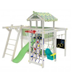 Детский домашний игровой комплекс чердак ДК1Б Бирюзовый...