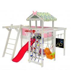 Детский домашний игровой комплекс чердак ДК1Р Розовый...
