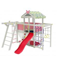 Детский домашний игровой комплекс чердак ДК2Р Розовый