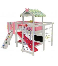Детский домашний игровой комплекс чердак ДК3Р Розовый...