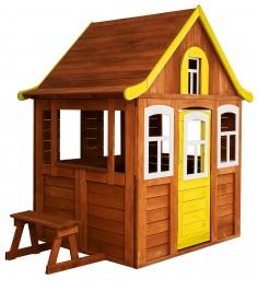 Детский домик Цветочный желтый P920-4