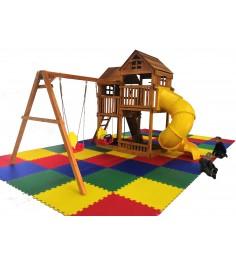 Детский игровой комплекс Р955-2 с трубой