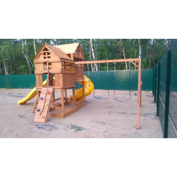 Детский игровой комплекс Р955-3 с трубой и горкой