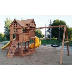 Детский игровой комплекс Р955-3 с трубой и горкой...