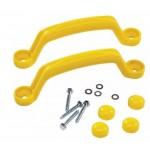 Пластиковые ручки желтые для игровых комплексов