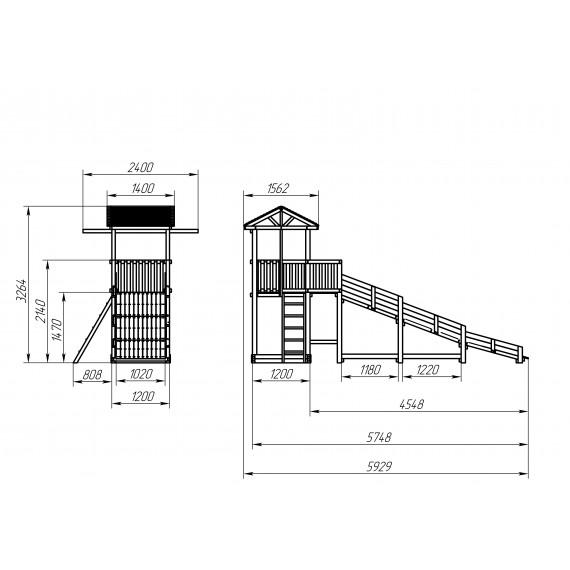 Зимний игровой комплекс СГ-Р919-Р918